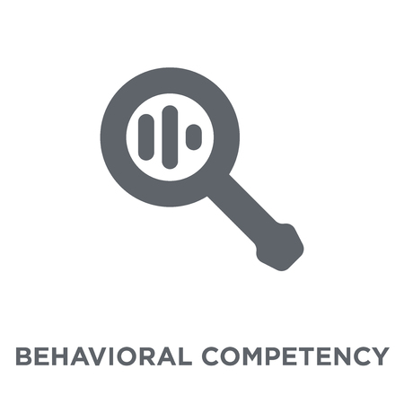 Behavioral competency icon. Behavioral competency design concept from Time managemnet collection. Simple element vector illustration on white background.