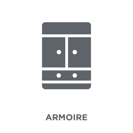 armoire icon. armoire design concept from Furniture and household collection. Simple element vector illustration on white background.