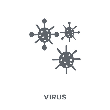 Virus icon. Virus design concept from  collection. Simple element vector illustration on white background. Фото со стока - 112138952