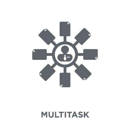 Multitask icon. Multitask design concept from Time managemnet collection. Simple element vector illustration on white background. Illustration