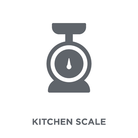 kitchen Scale icon. kitchen Scale design concept from  collection. Simple element vector illustration on white background.