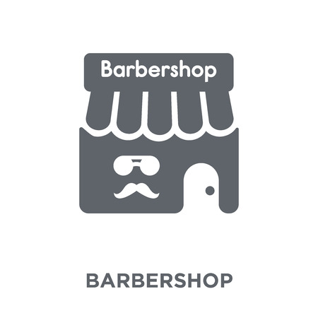 Barbershop icon. Barbershop design concept from Hotel collection. Simple element vector illustration on white background.