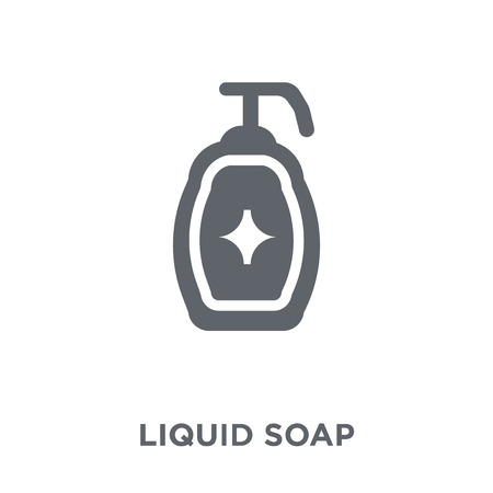 Liquid soap icon. Liquid soap design concept from  collection. Simple element vector illustration on white background.