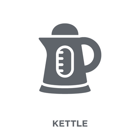 Kettle icon. Kettle design concept from  collection. Simple element vector illustration on white background.