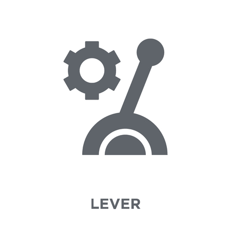 Lever icon. Lever design concept from  collection. Simple element vector illustration on white background.