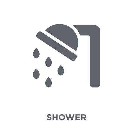 Shower icon. Shower design concept from  collection. Simple element vector illustration on white background.