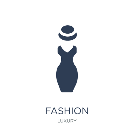 Fashion icon. Trendy flat vector Fashion icon on white background from Luxury collection, vector illustration can be use for web and mobile, eps10