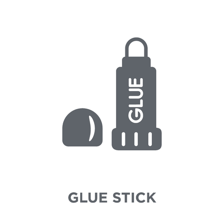 Glue stick icon. Glue stick design concept from Sew collection. Simple element vector illustration on white background.