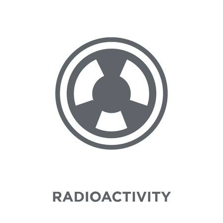 Radioactivity icon. Radioactivity design concept from Science collection. Simple element vector illustration on white background.