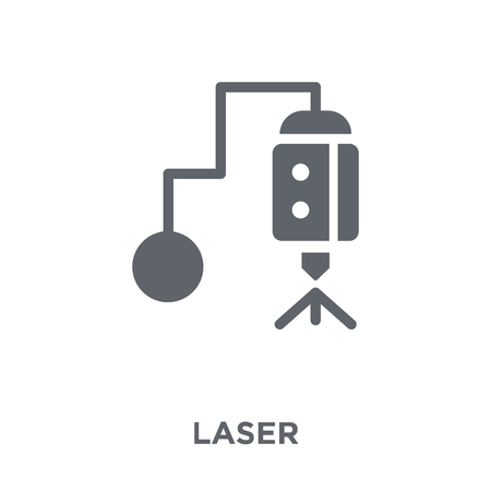 Laser icon. Laser design concept from  collection. Simple element vector illustration on white background. Banco de Imagens - 112235287