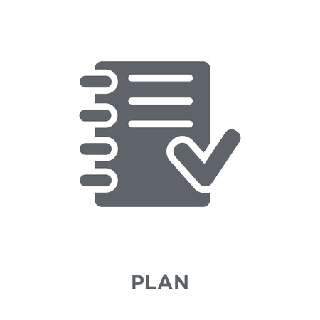 Plan icon. Plan design concept from  collection. Simple element vector illustration on white background.