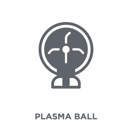 Plasma ball icon. Plasma ball design concept from  collection. Simple element vector illustration on white background.