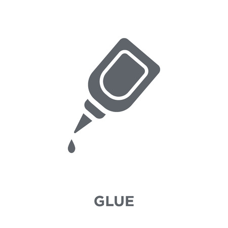 Glue icon. Glue design concept from  collection. Simple element vector illustration on white background. Stock Illustratie