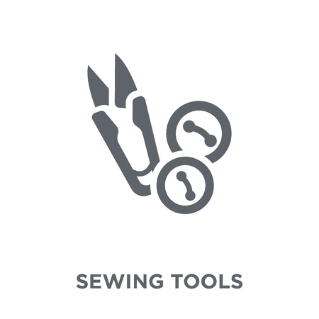 Sewing tools icon. Sewing tools design concept from Sew collection. Simple element vector illustration on white background.