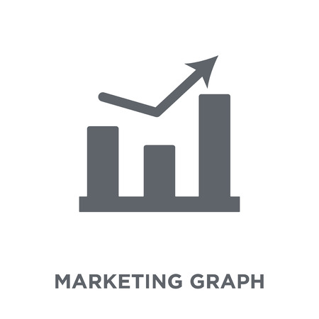marketing Graph icon. marketing Graph design concept from Marketing collection. Simple element vector illustration on white background.