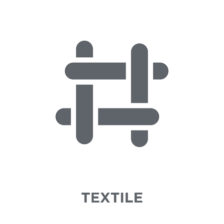 textile icon. textile design concept from  collection. Simple element vector illustration on white background.