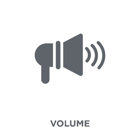 Volume icon. Volume design concept from  collection. Simple element vector illustration on white background. 일러스트