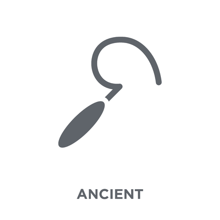 Ancient icon. Ancient design concept from  collection. Simple element vector illustration on white background.
