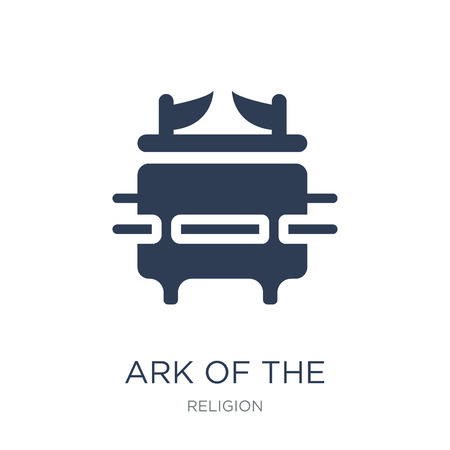 Ark of the Convenant icon. Trendy flat vector Ark of the Convenant icon on white background from Religion collection, vector illustration can be use for web and mobile, eps10 Иллюстрация