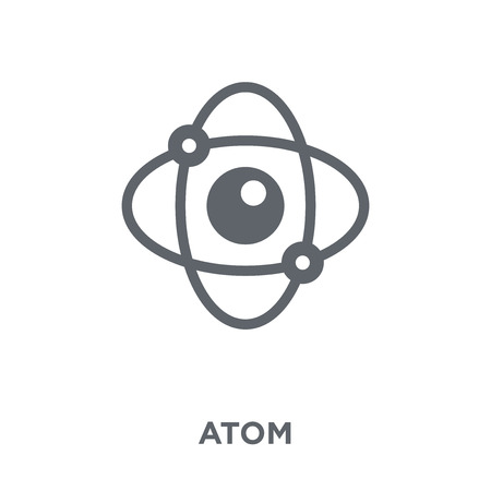 Atom icon. Atom design concept from  collection. Simple element vector illustration on white background.