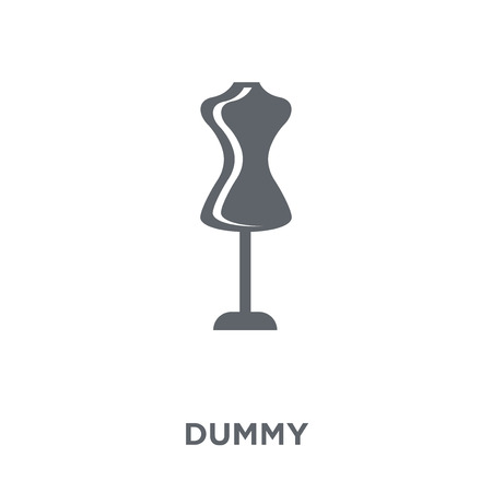 Dummy icon. Dummy design concept from  collection. Simple element vector illustration on white background.