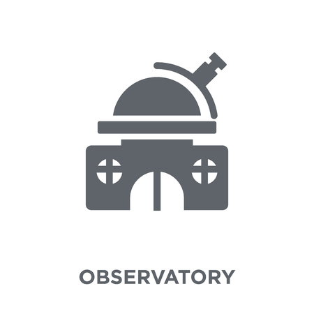 Observatory icon. Observatory design concept from  collection. Simple element vector illustration on white background.