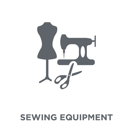 sewing Equipment icon. sewing Equipment design concept from Sew collection. Simple element vector illustration on white background.