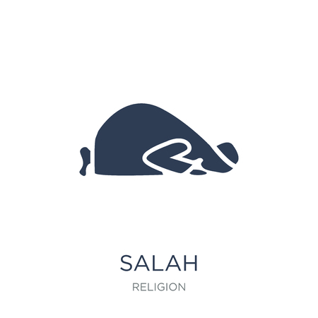 Salah icon. Trendy flat vector Salah icon on white background from Religion collection, vector illustration can be use for web and mobile, eps10