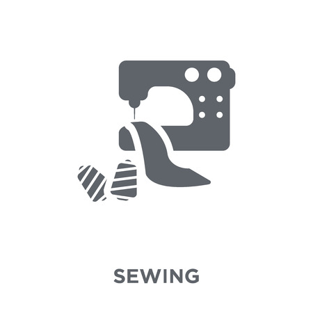 Sewing icon. Sewing design concept from  collection. Simple element vector illustration on white background.