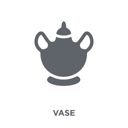 Vase icon. Vase design concept from  collection. Simple element vector illustration on white background.