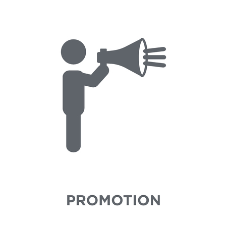 Promotion icon. Promotion design concept from  collection. Simple element vector illustration on white background.