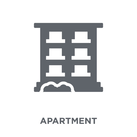 Apartment icon. Apartment design concept from  collection. Simple element vector illustration on white background.