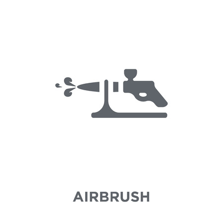 Airbrush icon. Airbrush design concept from  collection. Simple element vector illustration on white background.