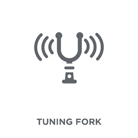 Tuning Fork icon. Tuning Fork design concept from Music collection. Simple element vector illustration on white background.