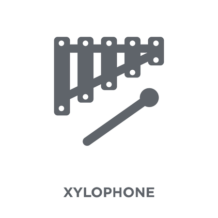Xylophone icon. Xylophone design concept from  collection. Simple element vector illustration on white background.