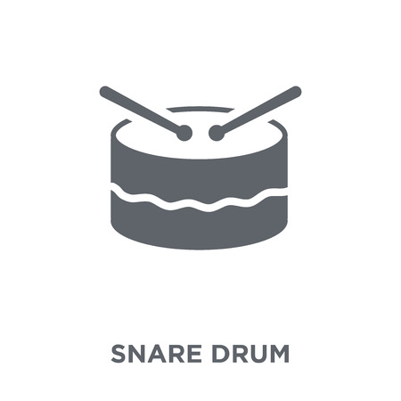 Snare drum icon. Snare drum design concept from Music collection. Simple element vector illustration on white background.