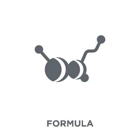 Formula icon. Formula design concept from  collection. Simple element vector illustration on white background. Illustration