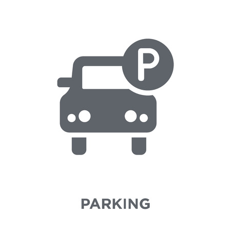 Parking icon. Parking design concept from  collection. Simple element vector illustration on white background.