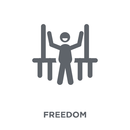 Freedom icon. Freedom design concept from  collection. Simple element vector illustration on white background.