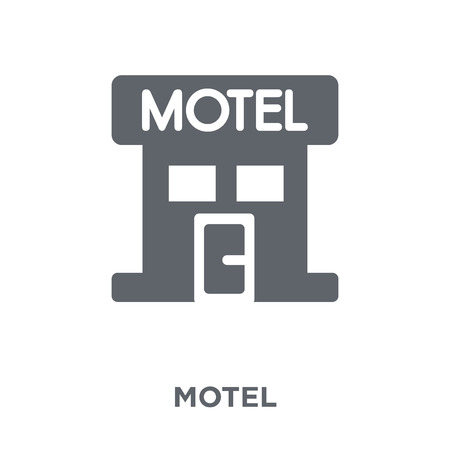 Motel icon. Motel design concept from  collection. Simple element vector illustration on white background.