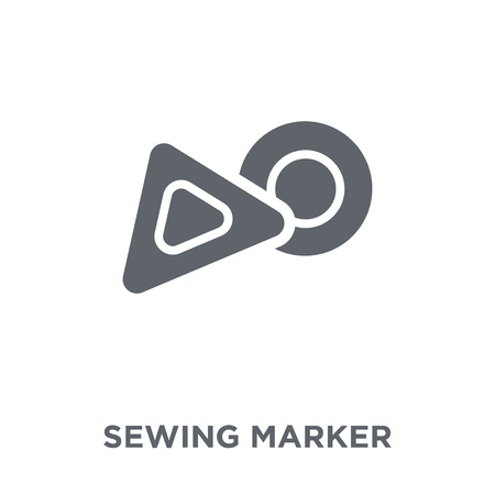 sewing Marker icon. sewing Marker design concept from Sew collection. Simple element vector illustration on white background.