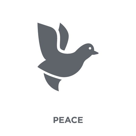 Peace icon. Peace design concept from  collection. Simple element vector illustration on white background. Illustration