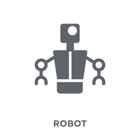 robot icon. robot design concept from  collection. Simple element vector illustration on white background. Illustration