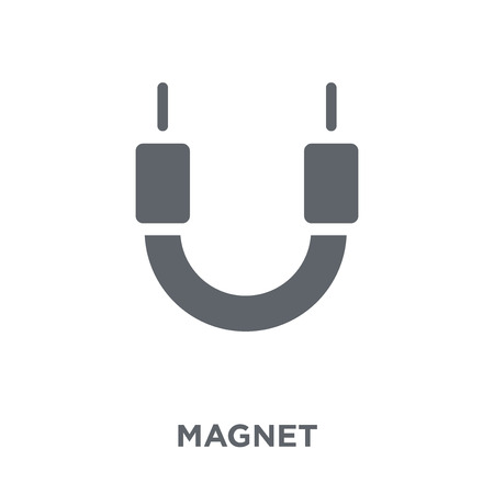 Magnet icon. Magnet design concept from  collection. Simple element vector illustration on white background. 向量圖像