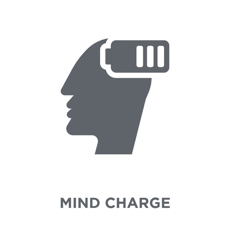 Mind Charge icon. Mind Charge design concept from Productivity collection. Simple element vector illustration on white background.