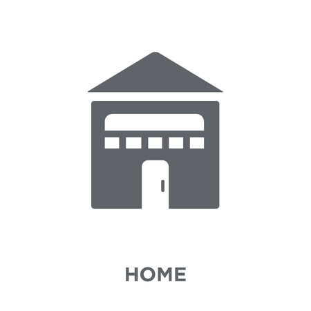 Home icon. Home design concept from  collection. Simple element vector illustration on white background.