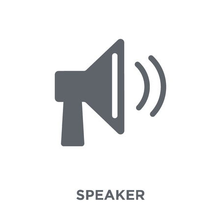 Speaker icon. Speaker design concept from  collection. Simple element vector illustration on white background.