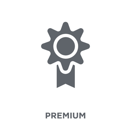 Premium icon. Premium design concept from Productivity collection. Simple element vector illustration on white background. Çizim