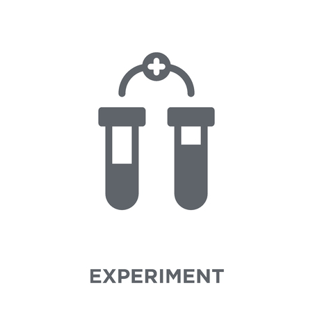 Experiment icon. Experiment design concept from  collection. Simple element vector illustration on white background.