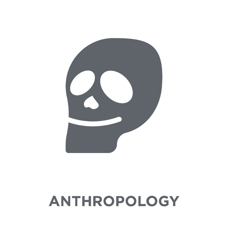 Anthropology icon. Anthropology design concept from Museum collection. Simple element vector illustration on white background.